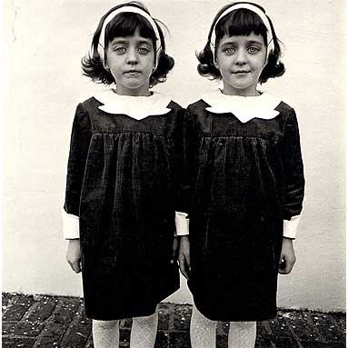 Diane Arbus, Identical Twins, Roselle, NJ, 1967