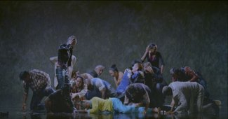 Bill Viola, The Raft, 2004, fotografia Kira Perov