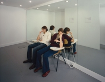 "Carsten Höller, The Pinocchio Effect, 1999. Installation view, ""Synchro System,"" Fondazione Prada, Milan, 2000. Photo: © Attilio Maranzano"