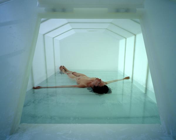 "Carsten Höller, Psycho Tank, 1999. Installation view, ""Une Exposition a Marseille,"" Musee d'Art Contemporain, Marseille, France, 2004. Courtesy the artist. Photo: Attilio Maranzano"
