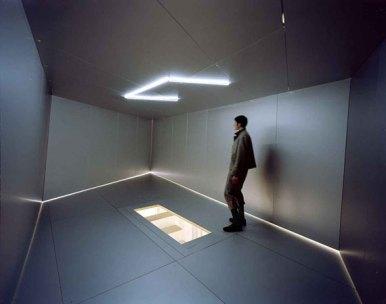 Carsten Höller, Trapezoid Swinging Room, 2005
