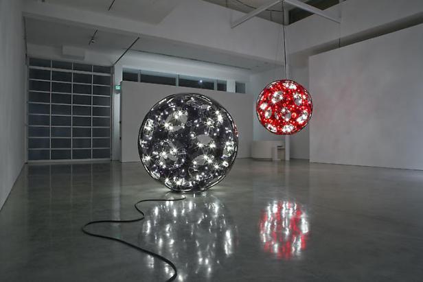 """Carsten Höller, """"Reindeers & Spheres"""""""