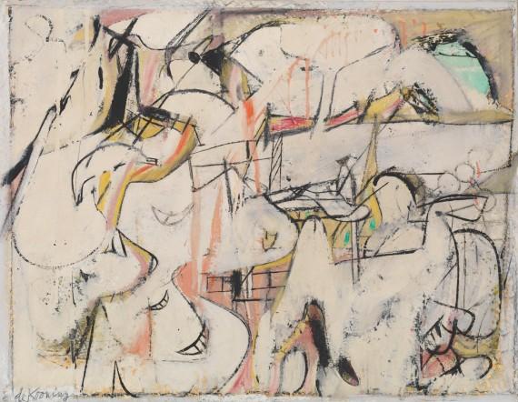 Willem de Kooning, Mailbox, 1948