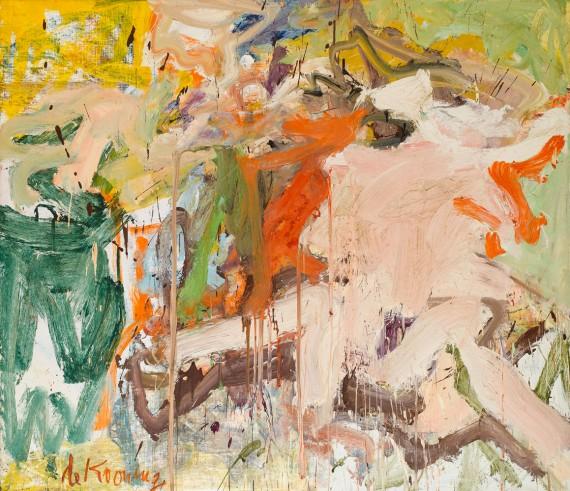 Willem de Kooning, Two Figures in a Landscape, 1967