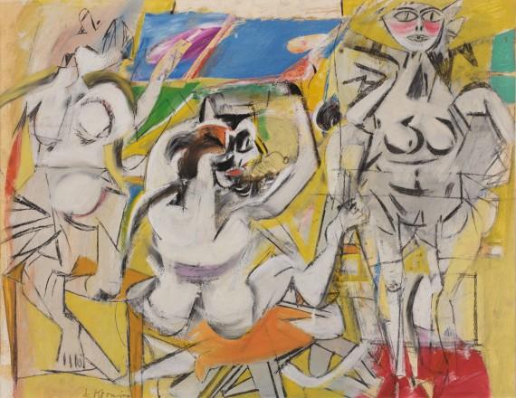Willem de Kooning, Untitled (Three Woman), 1948