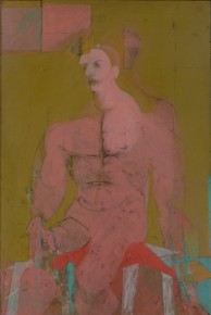 Willem de Kooning, Seated Figure (Classic Male), 1941/ 43