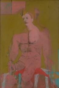Willem de Kooning, Seated Figure (Classic Male), 1941/ 43