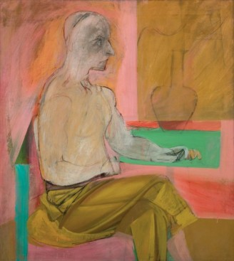 Willem de Kooning, Seated Man, 1939