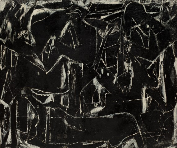 Willem de Kooning, Dark Pond, 1948