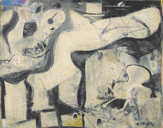 Willem de Kooning, Night, 1948