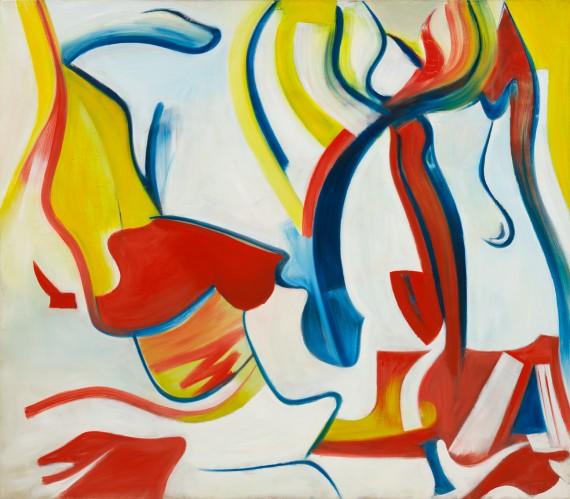 Willem de Kooning, Rider (Untitled VII), 1985