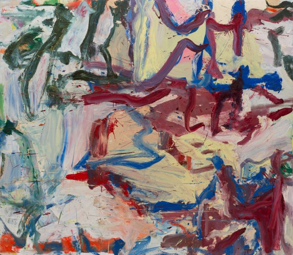Willem de Kooning, Whose Name Was Writ in the Water, 1975