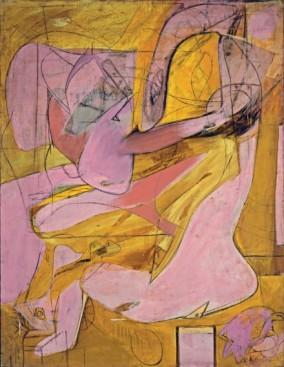 Willem de Kooning, Pink Angels, 1945