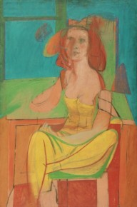 Willem de Kooning, Seated Woman, 1940