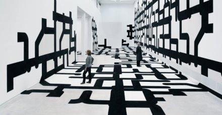 J. MAYER H., Rapport, estruturas espaciais experimentais, na Berlinische Galerie, Berlim, Alemanha