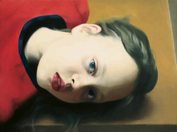 Gerhard Richter, Betty, 1977, (first portrait of his daughter) © Gerhard Richter/ Museum Ludwig/ Private Collection