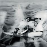Gerhard Richter, Motorboot (1. Fassung), 1965.