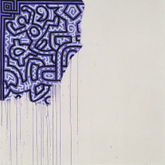 Unfinished Painting, Keith Harring (1958-1990). © Keith Harring Foundation.