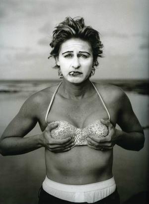 Helen Degeneres, Kauai, Hawai, fotografia de Annie Leibovitz (n.1949). © Annie Leibovitz, 2010.