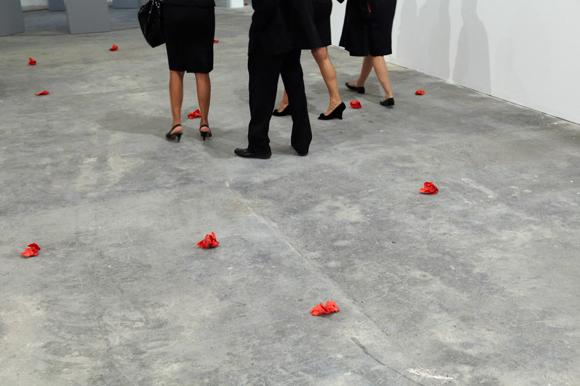 Sanja Iveković, Sweet Violence (2011-12) The Museum of Modern Art, New York. © 2011 MoMA, NY