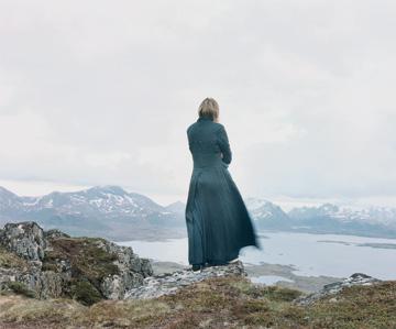 Elina Brotherus, 'Der Wanderer 2',