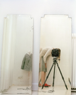 Elina Brotheru, 'artist and model reflected in a mirror 1'.