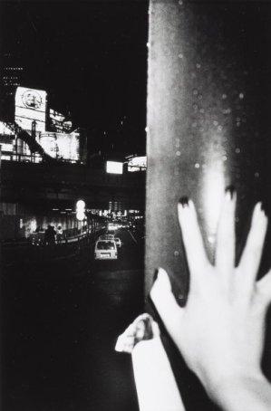 Daido Moriyama, Shinjuku #11, 2000, gelatin silver print, 13 1/4 x 9 in., courtesy of Gloria Katz and Willard Huyck. © Daido Moriyama.
