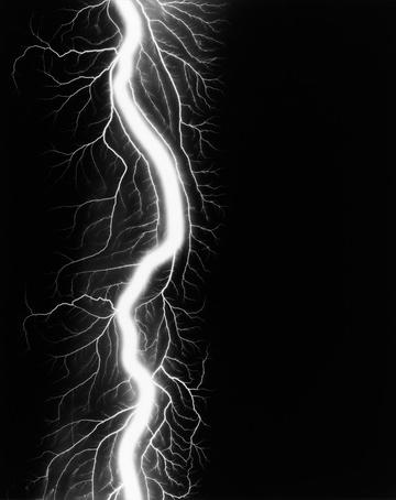 HSLightning Fields 220, 2009 gelatin silver print 58.4 x 47 cm