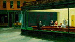 Edward Hopper, Nighthawks, 1942, Friends of American Art Collection © Art Institute of Chicago
