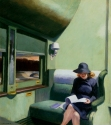 Edward Hopper, Compartment C-Car 293,1938, Private Collection US.