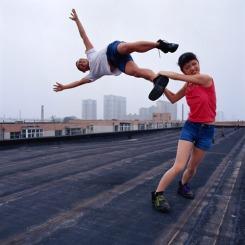Li Wei, Love at the high place 1, 2004,07.01, Beijing, 150x150cm,© Li Wei