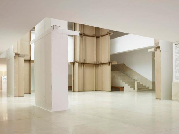 Carlos Bunga, exposição do projecto sonae/ serralves, museu de serralves, 2012. cortesia da artista e do museu de serralves.