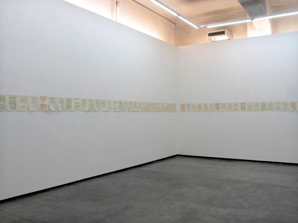 Carlos Correia, Le Plaisir au Dessin, em exposição na Appleton Square, Lisboa. Cortesia do artista e de Appleton Square.