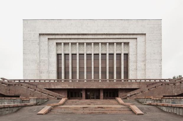 Lenin Museum (now Historical Museum), 1984, Bishkek, Kyrgystan © Simona Rota