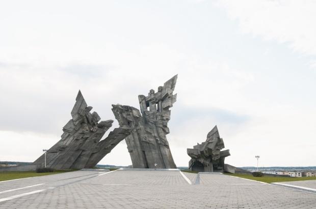 The 9th Fort Memorial and Museum, 1984, Kaunas, Lithuania © Ekaterina Shapiro-Obermair