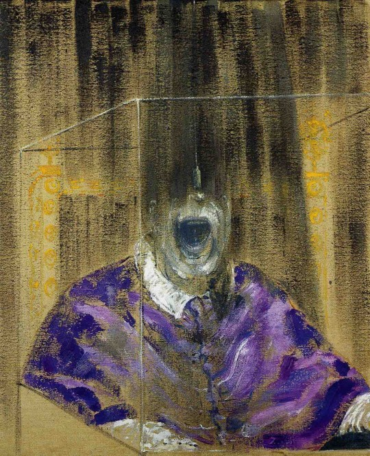 "Francis Bacon, ""Head VI"" 1949. (C) The Estate of Francis Bacon/ARS, New York/DACS, London."
