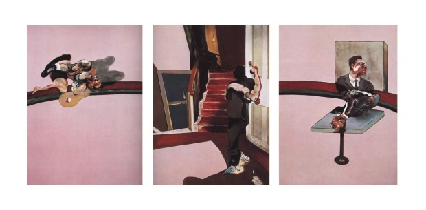 Francis Bacon, In Memory of George Dyer, 1971. (C) The Estate of Francis Bacon/ARS, New York/DACS, London.