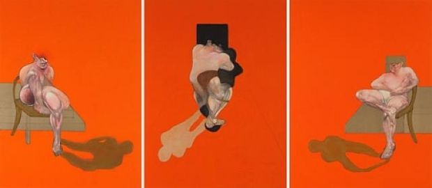 Francis Bacon, Triptych (1983), (C) The Estate of Francis Bacon.