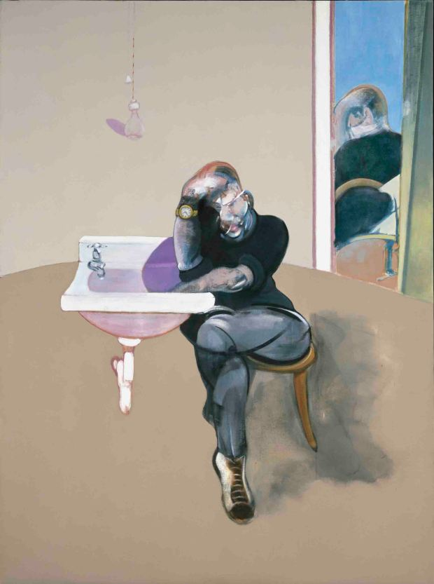 Francis Bacon , Self-Portrait (1973), C) The Estate of Francis Bacon.