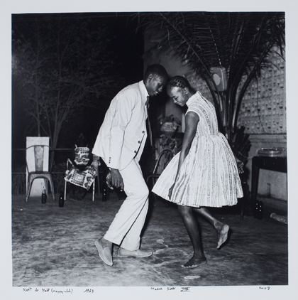 Malick Sidibé, Nuit de Nöel Courtesy of the artist and Jack Shainman Gallery, NY