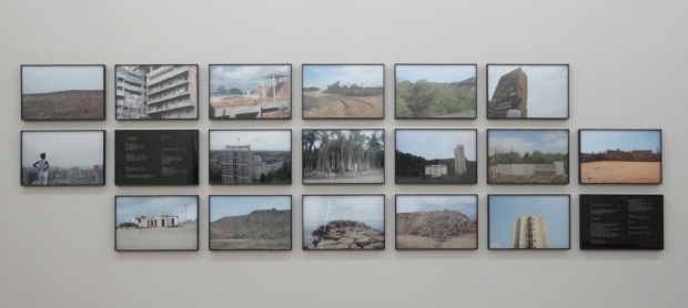Mónica de Miranda, Erosion, do projecto 'Once Upon a Time'. Vista da exposição Erosion na Appleton Square, 2013, Lisboa. © Mónica de Miranda.