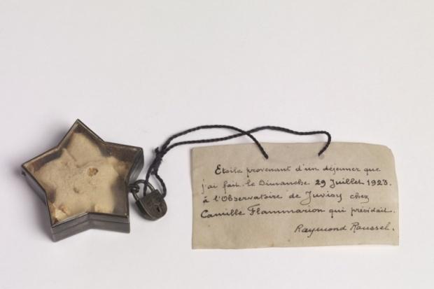 Raymond Roussel, Etoile cosmique, 1923. Collection littéraire Pierre Leroy (Paris)