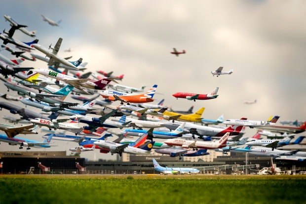 Ho-Yeol Ryu, Flughafen, 2005, digitale afdruk / digital print.