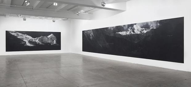 Tacita Dean, Fatigues (F) 2012, installation view, Marian Goodman Gallery, NY, 2013. Courtesy Marian Goodman Gallery.