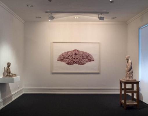 Vista da exposição AR, Parte I, de Miguel Branco, fotografia de Macelo Costa.© Imagem cortesia da Galeria Belo-Galsterer, Lisboa.