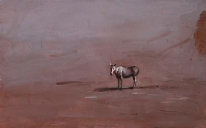 Miguel Branco, Sem Título, 1998, Óleo sobre madeira, 24 x 38 cm, Col. do artista. © Miguel Branco, cortesia do artista do artista e da Galeria Belo-Galsterer, Lisboa.