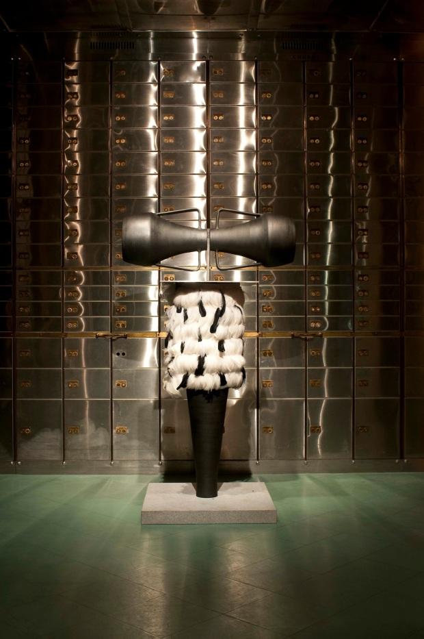 """MUDE Museum, """"Percursos, Barro Negro / Castanho / Ferro / Granito"""". Lisboa. © Luisa Ferreira"""
