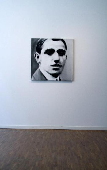 Santiago Ydañez, exposição 'Love Triangle', Goethe-Institut e Instituto Cervantes em Estocolmo. Cortesia de Invaliden1 Galerie, 2013.