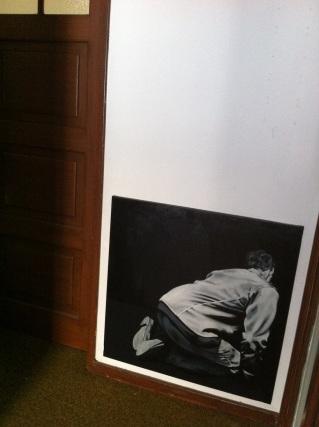 Isabel Ribeiro, Em Cada Excesso Um Cadáver,, 2012, óleo s/ tela, 80x80 cm.
