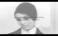 Mare Tralla (Estónia) Reading faces, 2011, vídeo, p/b, s/som, 5'30''.